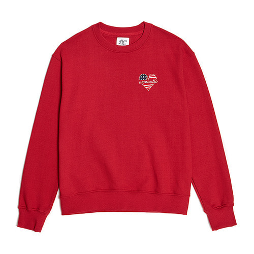 NOMANTIC NY EDITION LOGO SWEAT-SHIRTS RED