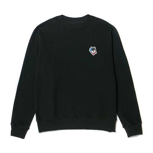[NOJAMBOT X BC]CM BASIC LOGO SWEAT-SHIRTS BLACK