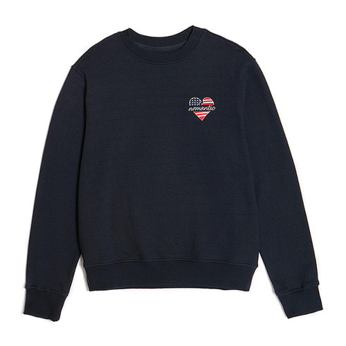 NOMANTIC NY EDITION LOGO SWEAT-SHIRTS NAVY