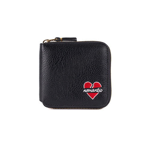 NOMANTIC SMALL LOGO WALLET BLACK