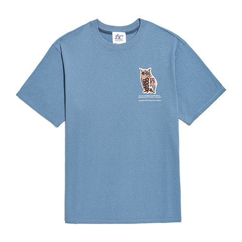[COLLECTION LINE]OWL INSPIRATION 1/2 T-SHIRTS BLUE