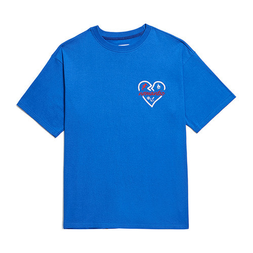 NOMANTIC SUMMER ROPE 1/2 T-SHIRTS BLUE