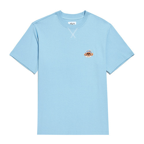 ILP VACATION DOG SIGNATURE 1/2 T-SHIRTS SKY BLUE