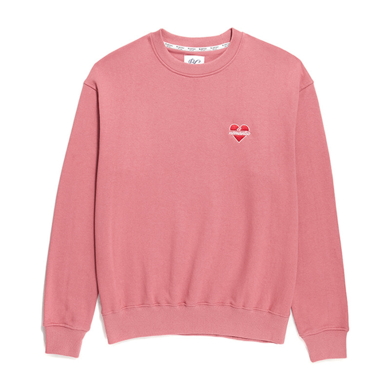 NOMANTIC SIGNATURE LOGO SWEAT-SHIRTS PINK
