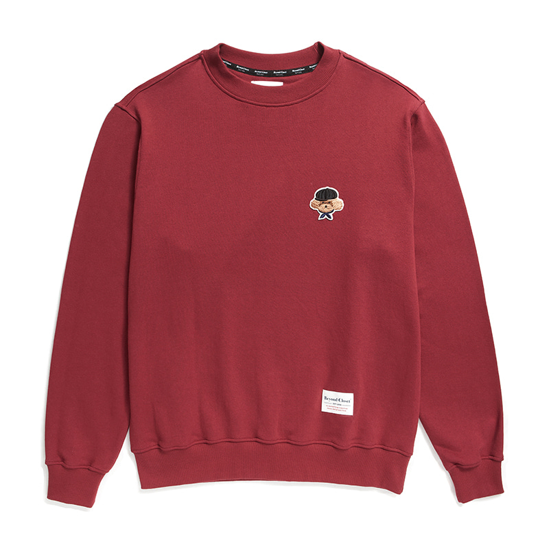 ILP SIGNATURE BASIC LOGO SWEAT-SHIRTS 2019FW BURGUNDY