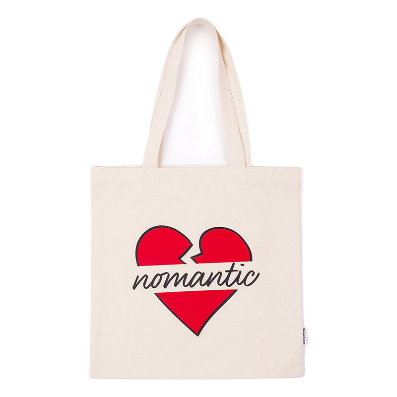 NOMANTIC LOGO ECO BAG 2019VER IVORY
