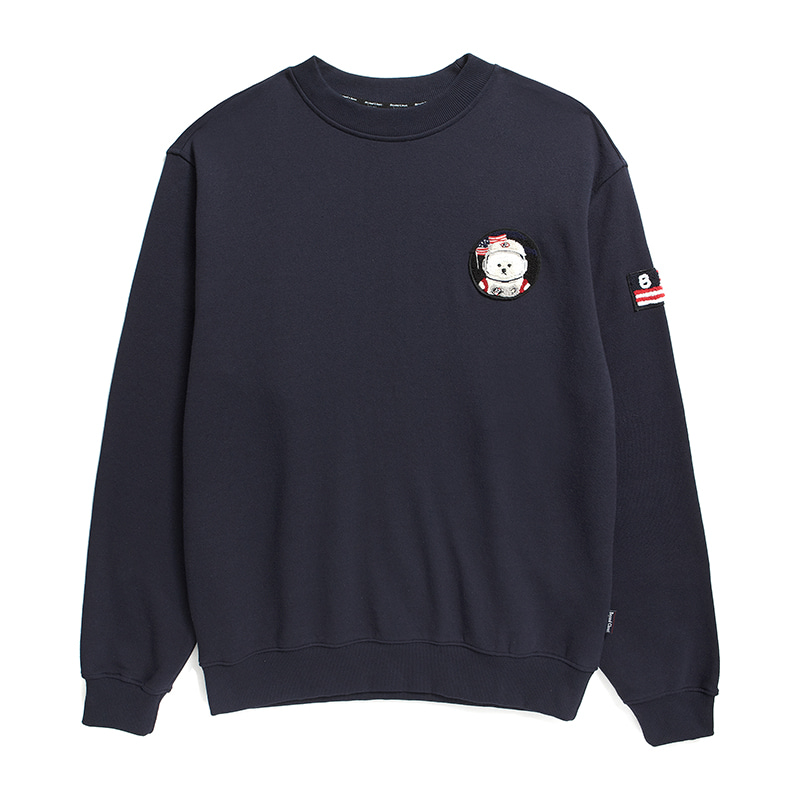 [RE-EDITION]APOLLO W-WAPPEN SWEAT-SHIRTS 2019FW NAVY