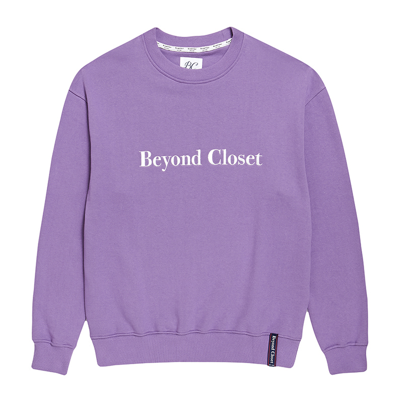 NEW EDITION BIG LOGO SWEAT-SHIRTS PURPLE