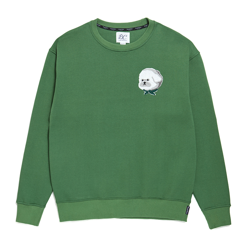[기모]ILP HQ WAPPEN SWEAT-SHIRTS 2019FW GREEN