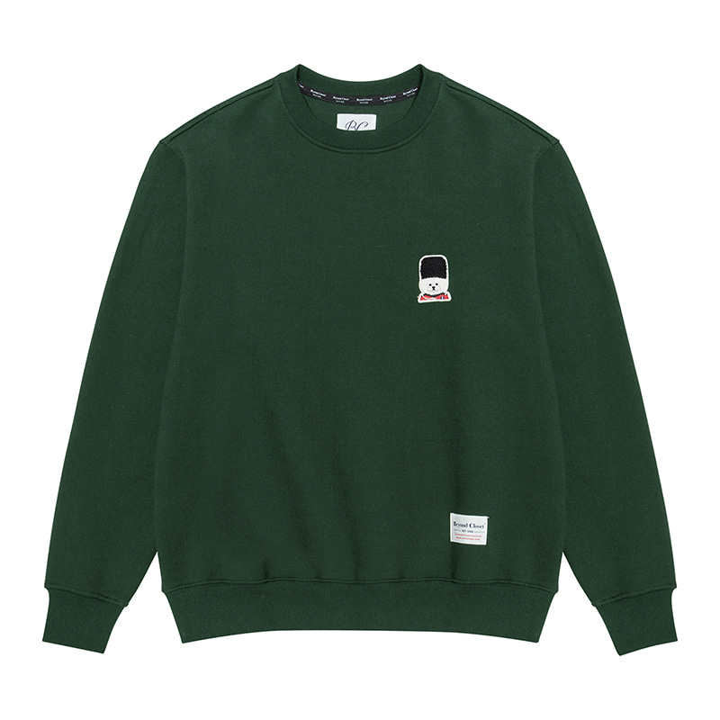 [기모]ILP SIGNATURE UK LOGO SWEAT-SHIRTS 2019FW GREEN