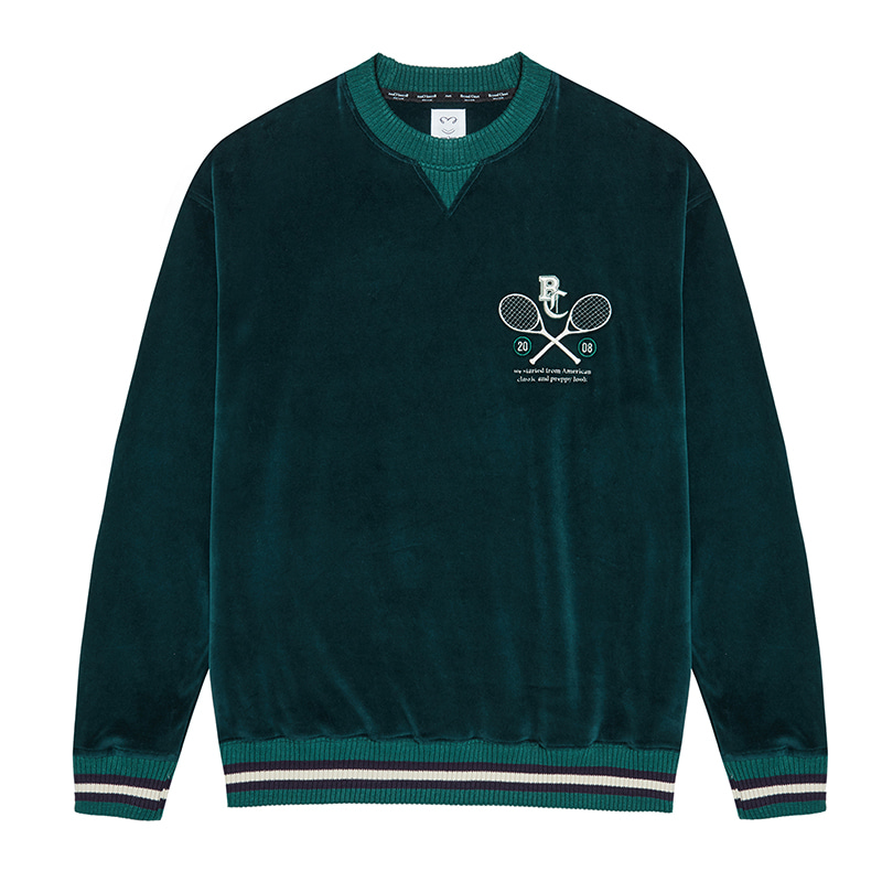 CLASSIC VELOUR SWEAT-SHIRTS GREEN