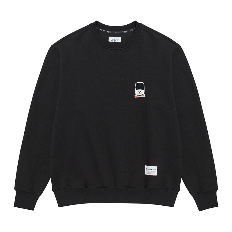 [기모]ILP SIGNATURE UK LOGO SWEAT-SHIRTS 2019FW BLACK