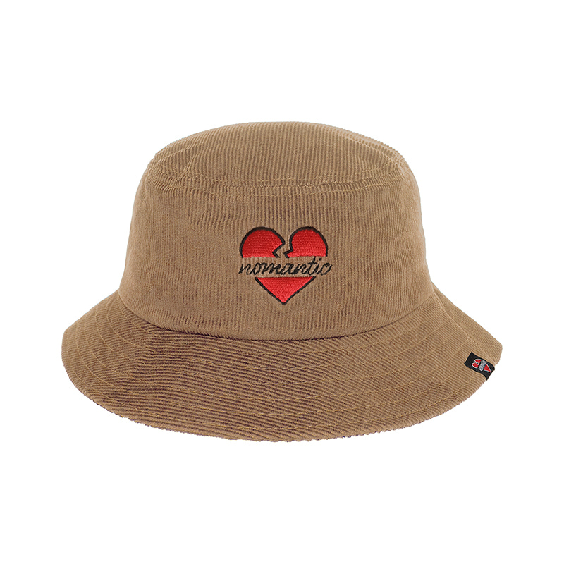 NOMANTIC CORDUROY BUCKET HAT BEIGE