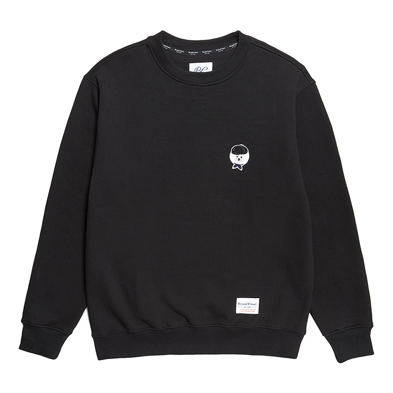 [기모]ILP SIGNATURE LOGO SWEAT-SHIRTS 2019FW BLACK