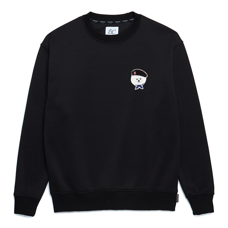 [HOLIDAY EDITION]ILP SIGNATURE PARIS LOGO SWEAT-SHIRTS BLACK