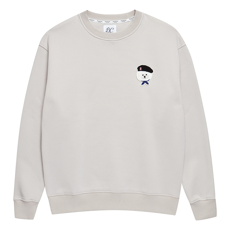 [HOLIDAY EDITION]ILP SIGNATURE PARIS LOGO SWEAT-SHIRTS IVORY