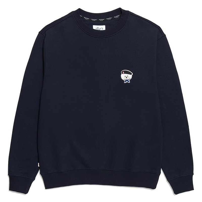 ILP SIGNATURE PARIS LOGO SWEAT-SHIRTS 2020SS NAVY