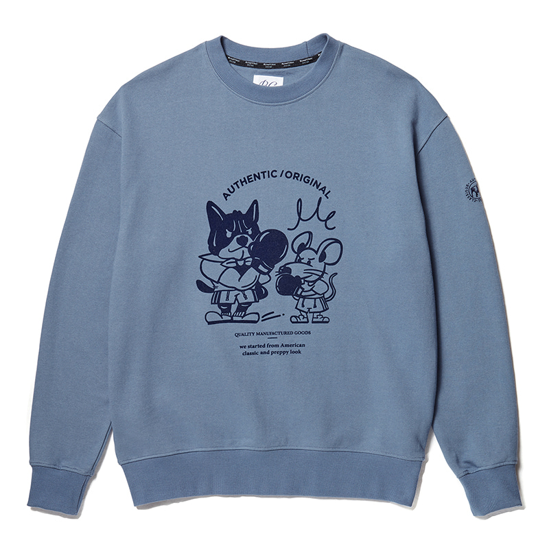 ILP THE YEAR OF THE RAT SWEAT-SHIRTS FADED DENIM