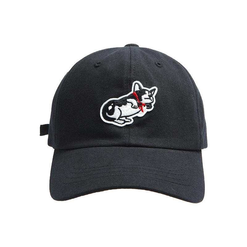 ILP DOG DAYS BALL-CAP BLACK