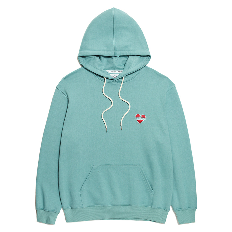 NOMANTIC LOGO HOOD T-SHIRTS NEO MINT