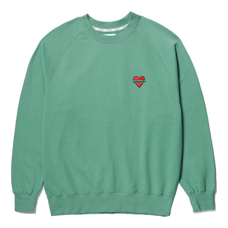 NOMANTIC LOGO RAGLAN SWEAT-SHIRTS EMERALD