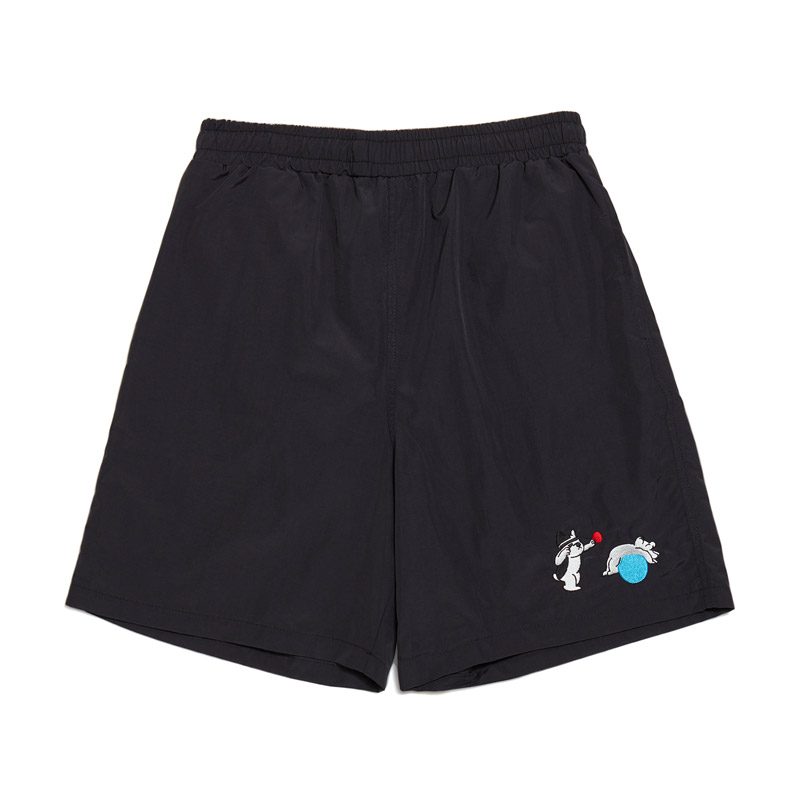 [Ball Collection]BC FITNESS CENTER 1/2 GYM SHORTS BLACK