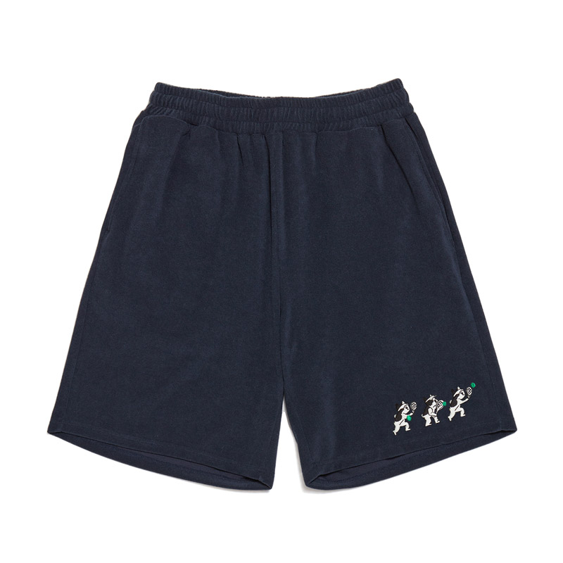 [Ball Collection]BC TENNIS TOWEL 1/2 PANTS NAVY