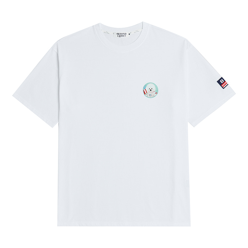 APOLLO DOG WAPPEN 1/2 T-SHIRTS 2020VER WHITE