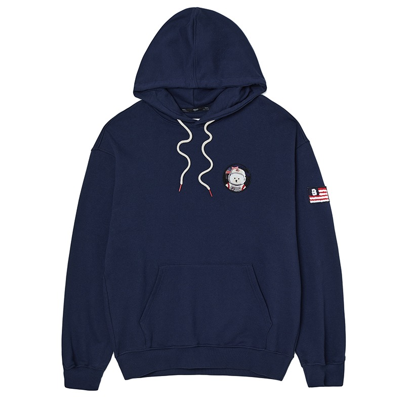 APOLLO COLLECTION CLASSIC WAPPEN HOOD T-SHIRTS NAVY