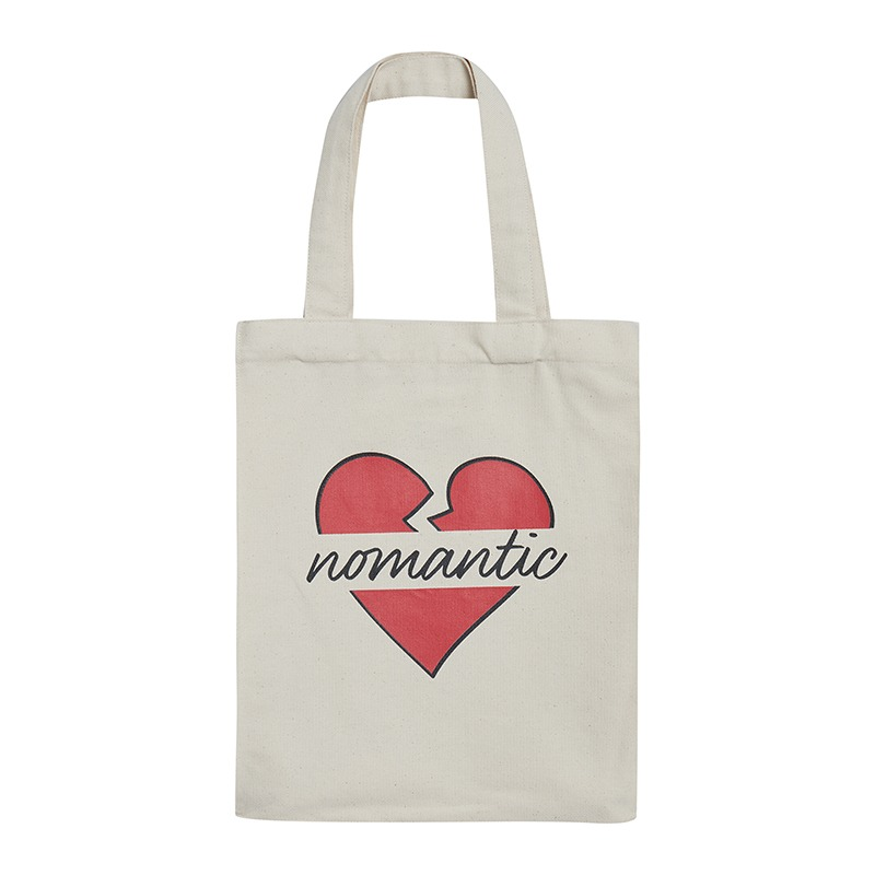 NOMANTIC PARISIEN CANVAS TOTE BAG IVORY