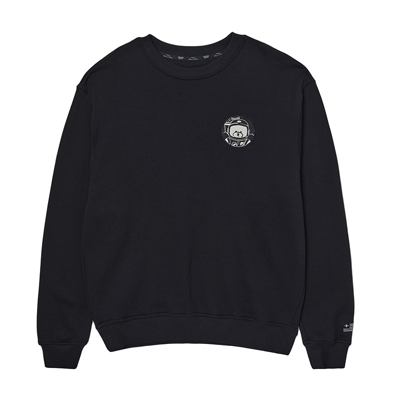 APOLLO COLLECTION MONO LOGO SWEAT-SHIRTS BLACK
