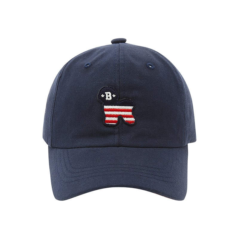 FLAG DOG CHINO BALL CAP NAVY