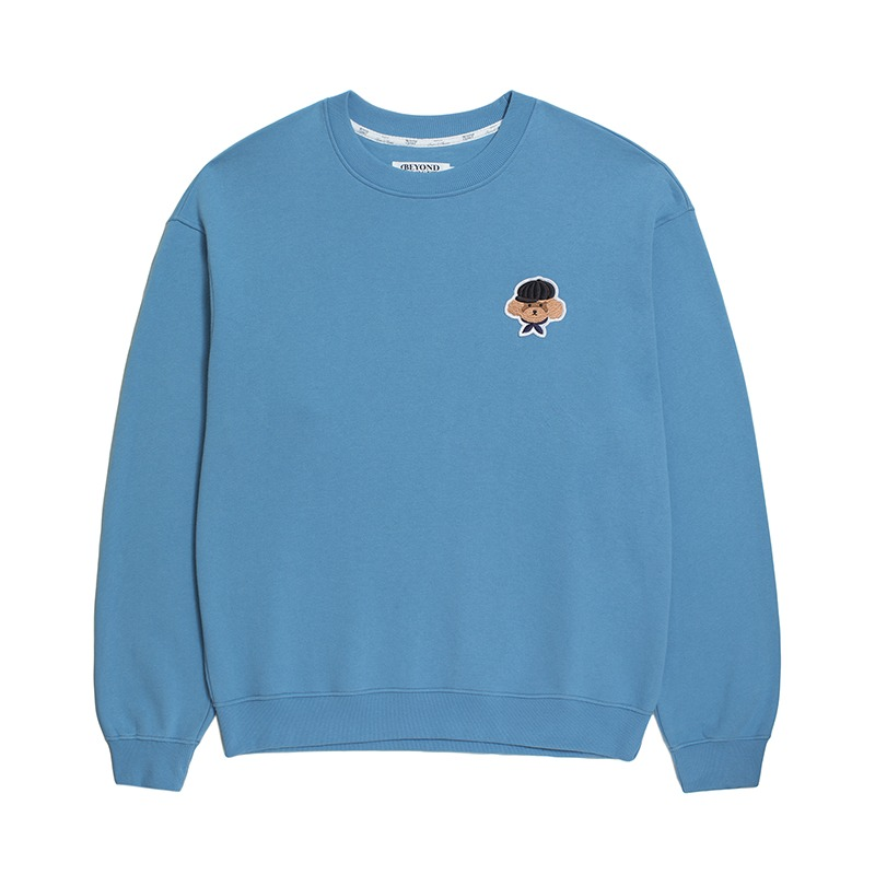 ILP SIGNATURE BASIC LOGO SWEAT-SHIRTS 2020FALL SKY BLUE