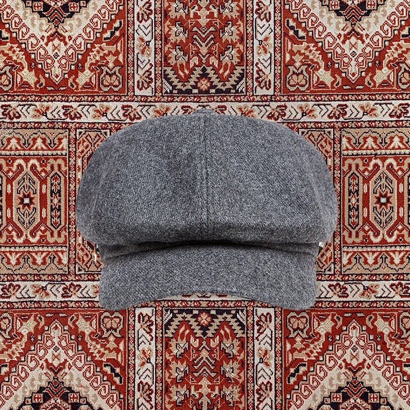 [20ARCHIVE]HERITAGE WOOL CAP GRAY