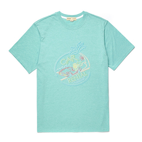 CAR-NEON DOG 1/2 TS [NEON SIGN LINE] MINT