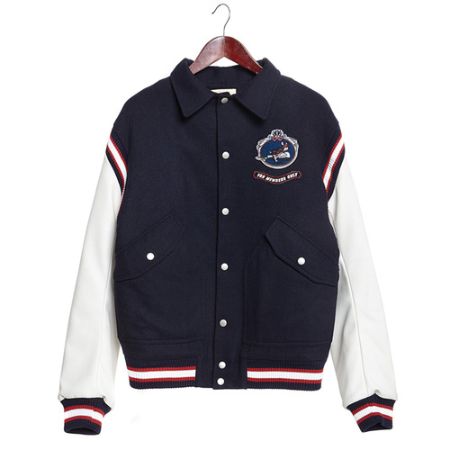 BROMANCE WAPPEN DOG WOOL STADIUM JP NAVY