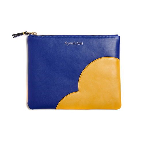 PATCH POINT CLUTCH BLUE
