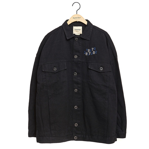 [COLLECTION LINE] YOUTH CULTURE JP BLACK
