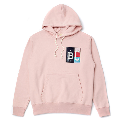 [COLLECTION LINE] MIX PATCH HOOD INDI PINK