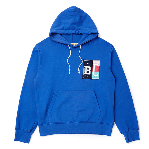 [COLLECTION LINE] MIX PATCH HOOD BLUE
