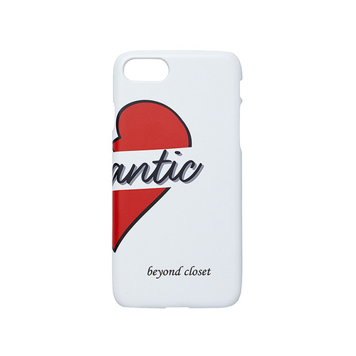 BASIC NOMANTIC HALF IPHONE7 CASE WHITE