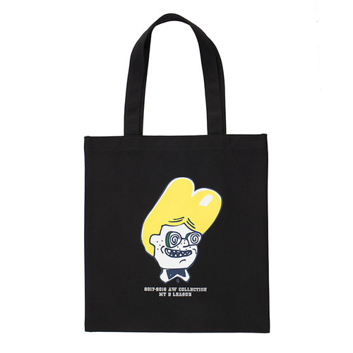 [COLETTE EDITION] YELLOW NERD BOY ECO BAG BLACK