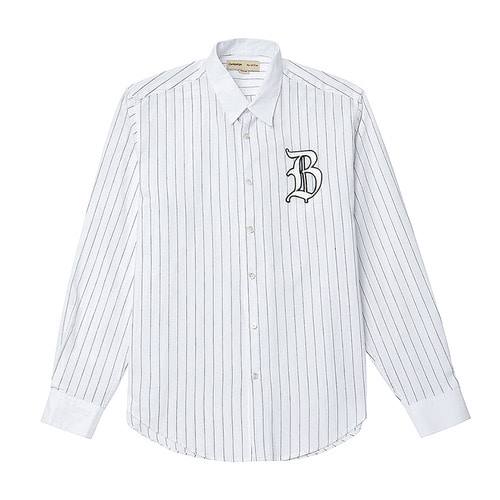 [COLETTE EDITION] CLASSIC LOGO CLERIC SHIRTS WHITE