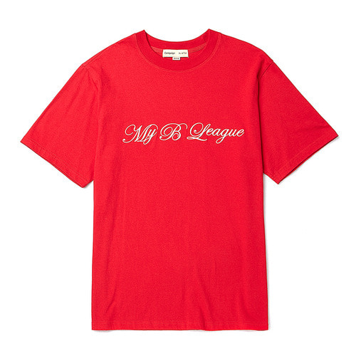 [COLETTE EDITION] LOGO NEEDLEWORK 1/2 T-SHIRTS RED