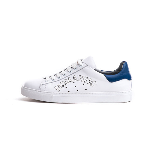 [SPELLO X BEYOND CLOSET] NOMANTIC LOGO SNEAKERS WHITE/BLUE