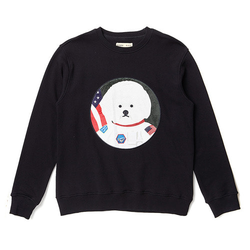 APOLLO DOG PATCH SWEAT-SHIRTS 2018ver BLACK