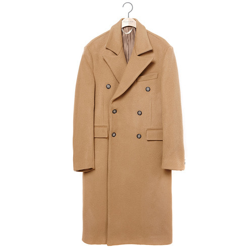 [COLLECTION LINE]MY B CLASSIC DOUBLE LONG COAT CAMEL