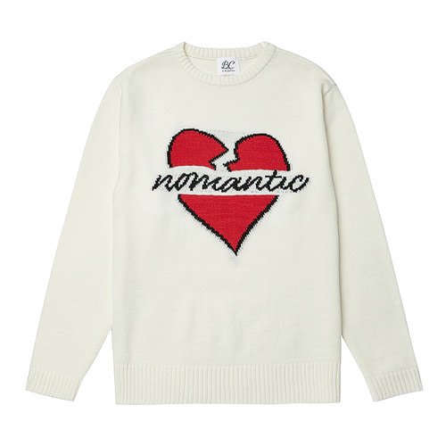 BASIC NOMANTIC LOGO KNIT 2018VER IVORY