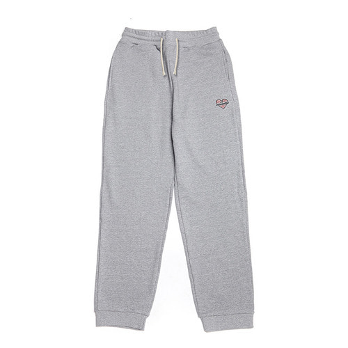 NOMANTIC BASIC LOGO SWEAT PANTS GRAY