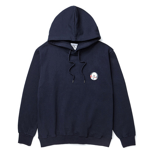 [기모]APOLLO DOG WAPPEN HOOD T-SHIRTS NAVY